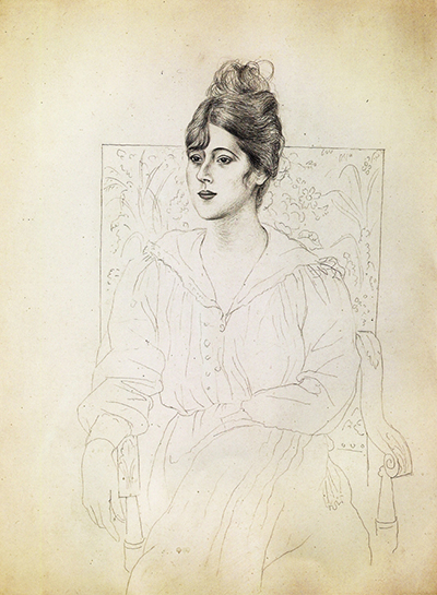 Portrait of Madame Patri Pablo Picasso