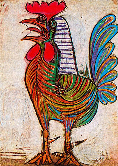 The Cock Pablo Picasso